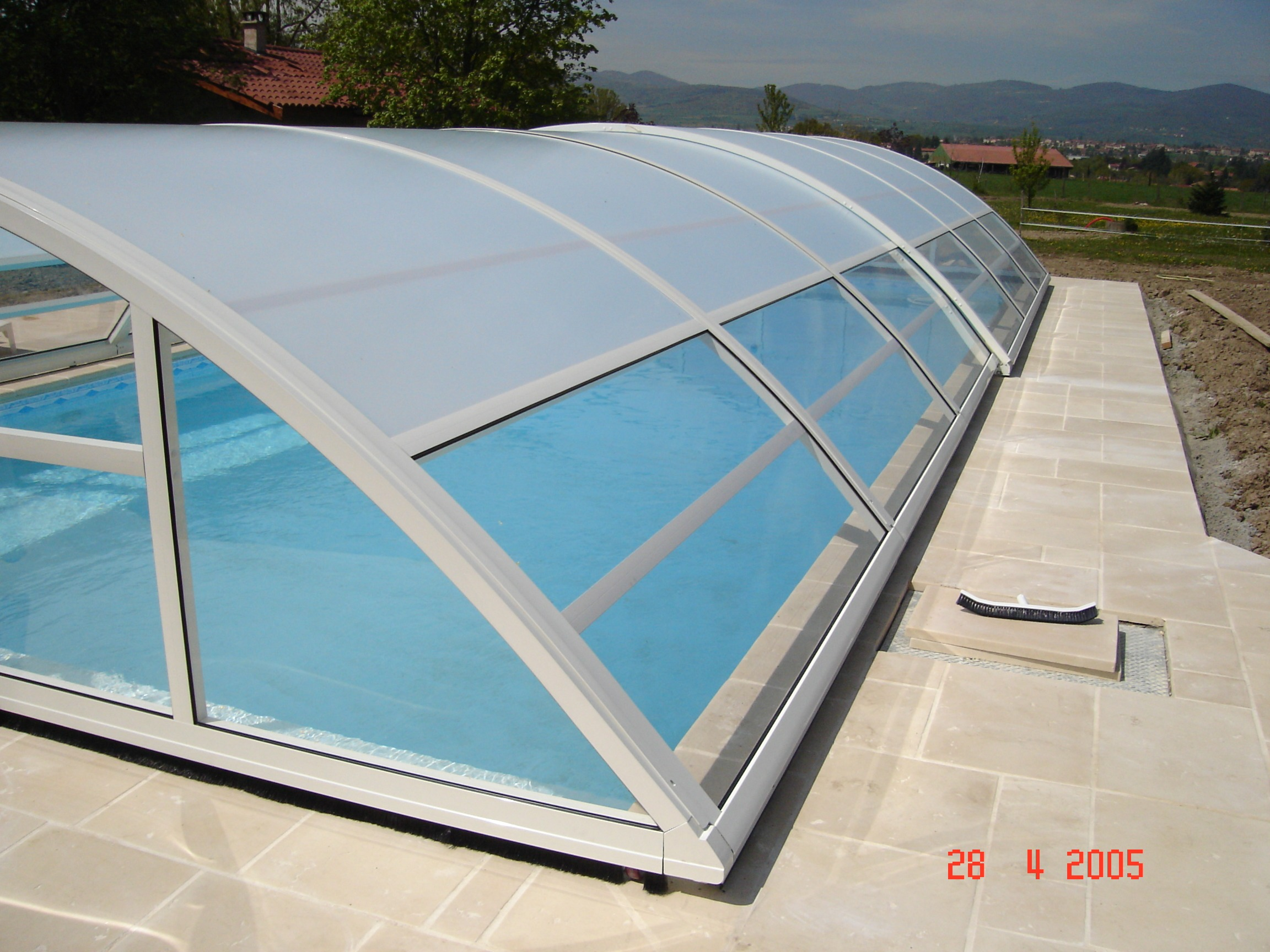 Abri piscine EC CREATION 2005