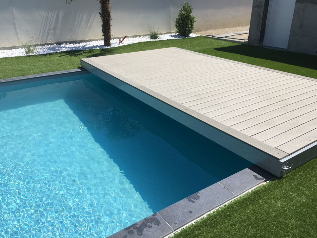 stilys terrasse mobile plancher coulissant pour piscine. Black Bedroom Furniture Sets. Home Design Ideas